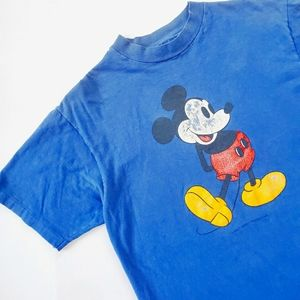 VINTAGE 80s Mickey Mouse T Shirt